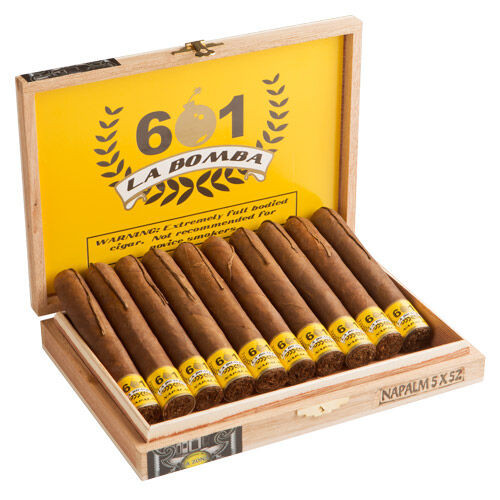 601 La Bomba Napalm - 5 x 52 Cigars (Box of 10)
