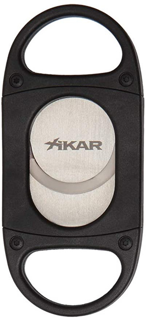 Xikar Cigar Cutters X8 Silver & Black Cutter (X8-Silver-3X8B)