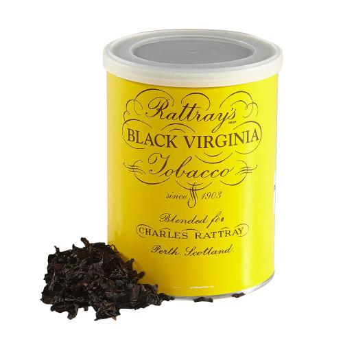 Rattray's Black Virginia Pipe Tobacco | 3.5 OZ TIN