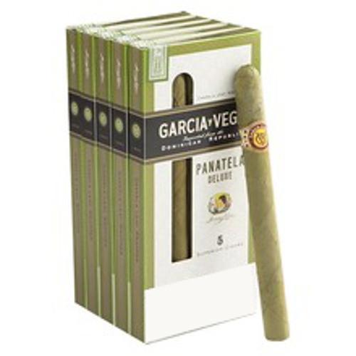Garcia Y Vega Panatella Deluxe Cigars (5 Packs Of 5) - Candela
