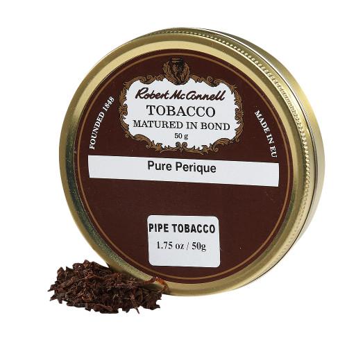 McConnell's Pure Perique Pipe Tobacco   1.75 OZ TIN