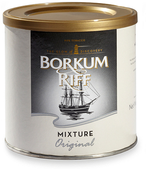 Borkum Riff Original Pipe Tobacco | 7 OZ TIN