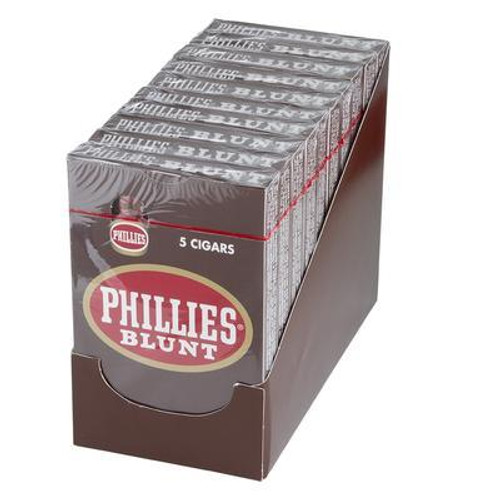 Phillies Blunt Chocolate Cigars (10 Packs Of 5) - Natural