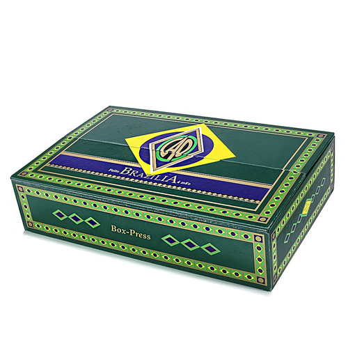 CAO Brazilia Box Pressed Cigars - 5 1/2 x 55 (Box of 20)
