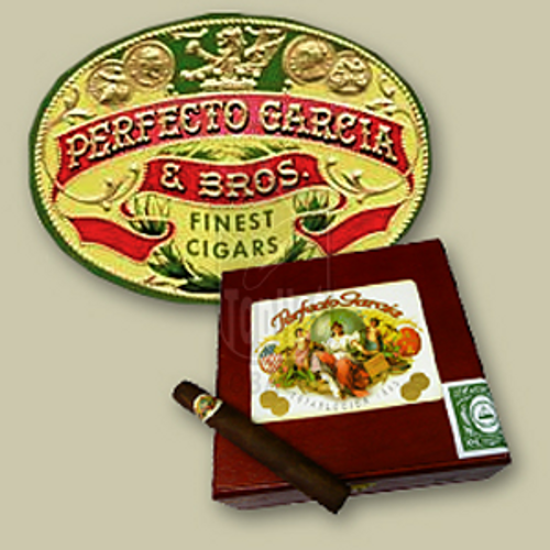 Perfecto Garcia Churchill Natural Cigars - 7 x 48 (Box of 25)