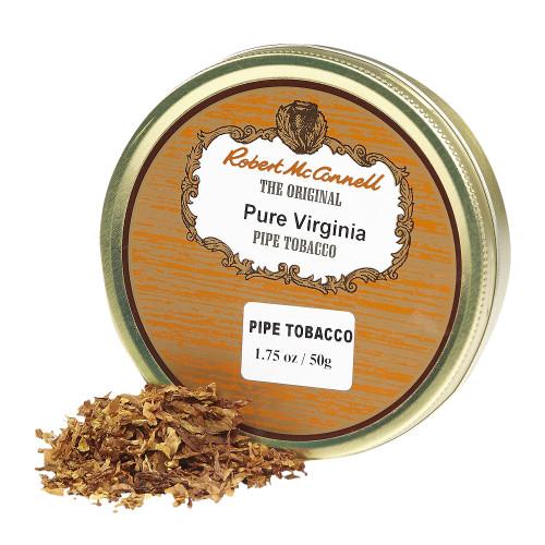 McConnell's Pure Virginia Pipe Tobacco | 1.75 OZ TIN