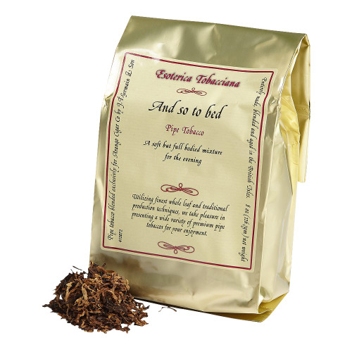Esoterica And So To Bed Pipe Tobacco | 8 OZ BAG