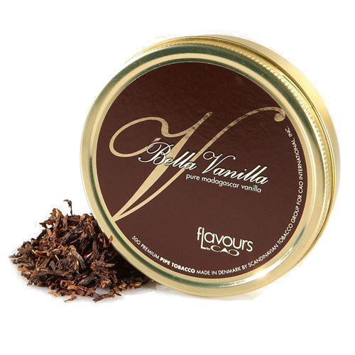 CAO Bella Vanilla 50g Tin Pipe Tobacco