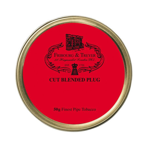 Fribourg & Treyer Cut Blended Plug Pipe Tobacco | 1.75 OZ TIN
