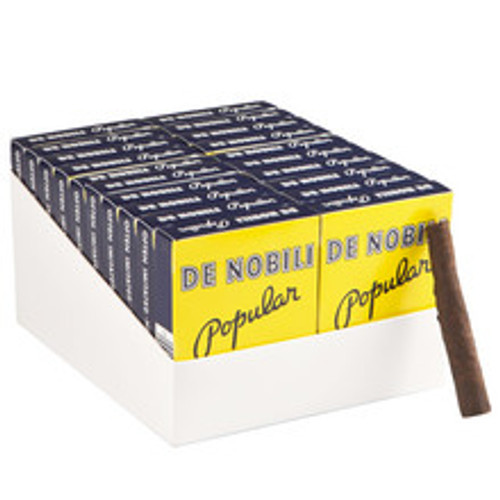 De Nobili Popular Cigars (20 Packs Of 5) - Natural