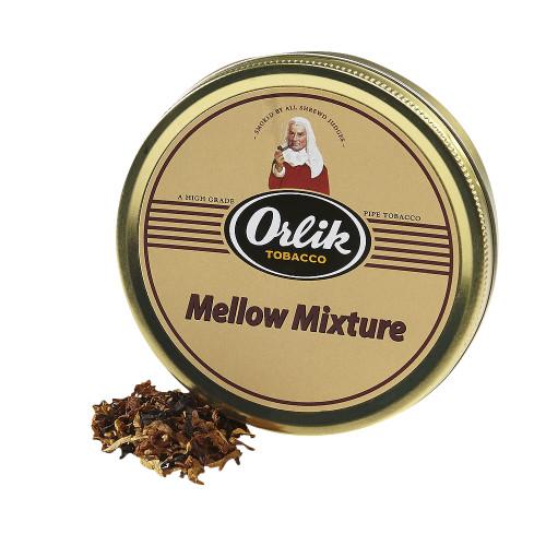 Orlik Mellow Mixture Pipe Tobacco | 1.75 OZ TIN