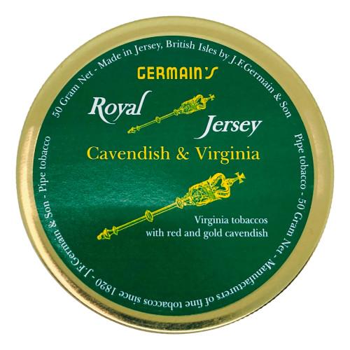 Germain's Royal Jersey Virginia Pipe Tobacco | 1.75 OZ TIN