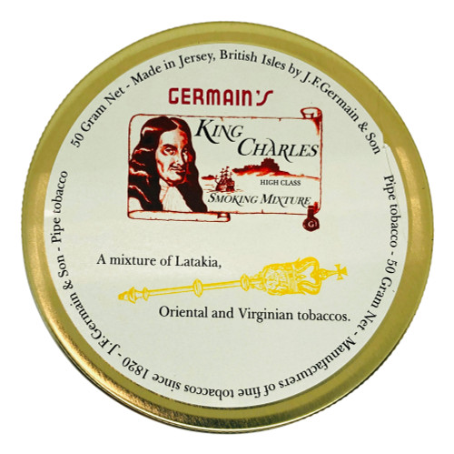 Germain's King Charles Mixture Pipe Tobacco | 1.75 OZ TIN