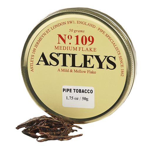 Astleys No. 109 Pipe Tobacco   1.75 OZ TIN