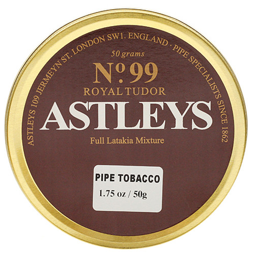 Astleys No. 99 Royal Tudor Pipe Tobacco | 1.75 OZ TIN