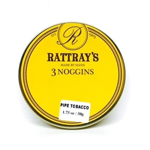 Rattray's 3 Noggins Pipe Tobacco   1.75 OZ TIN