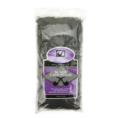 Finsbury Black Cavendish Pipe Tobacco | 12 OZ BAG