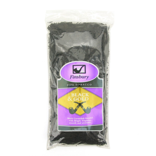 Finsbury Black and Gold Pipe Tobacco | 12 OZ BAG