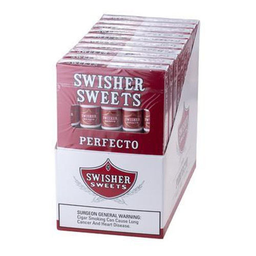 Swisher Sweets Perfecto Cigars (10 Packs of 5) - Natural