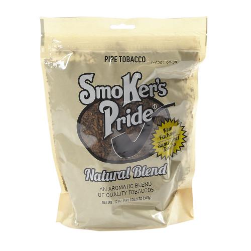 Smoker's Pride Natural Pipe Tobacco | 12 OZ BAG