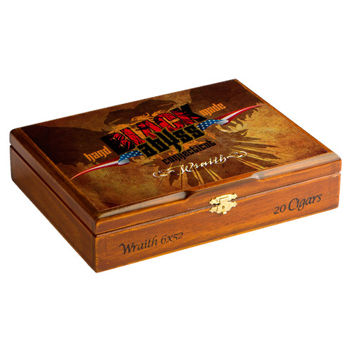 Black Abyss Connecticut Wraith Cigars - 6 x 52 (Box of 20)