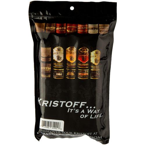 Cigar Samplers Kristoff Bold Spice Sampler (Pack of 4)