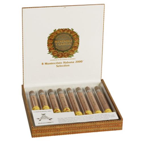 Cigar Samplers Montecristo Habana 2000 Glass-Tubed Sampler (Box of 8)