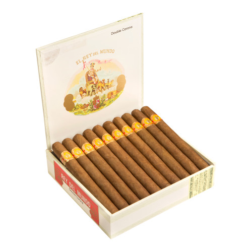 El Rey del Mundo Double Corona Deluxe Cigars - 6.75 x 49 (Box of 20)