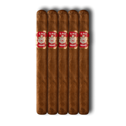 El Rico Habano Corona Suprema Cigars - 6 x 50 (Pack of 5)