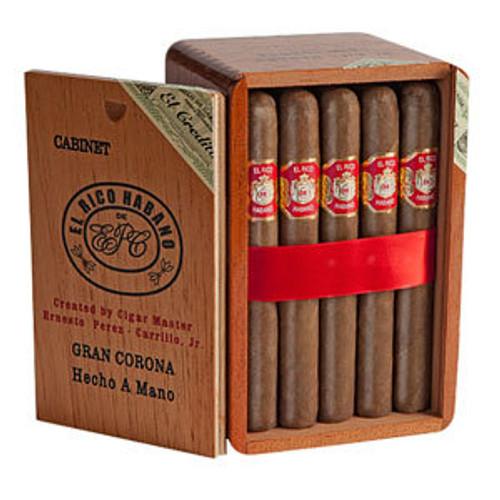 El Rico Habano Gran Habanero Maduro Cigars - 7.5 x 54 (Cedar Chest of 25)