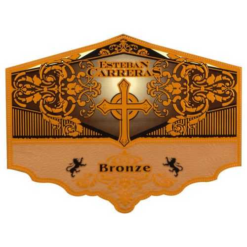 Esteban Carreras Bronze Cross Torpedo Cigars - 6.25 x 54 (Box of 20)