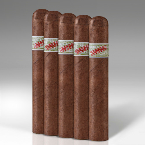 Genuine Counterfeit Cubans Robusto Cigars - 5 x 50 (Pack of 5)