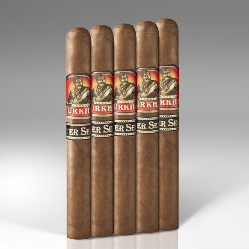 Gurkha 5-Packs Master Select Toro Cigars - 6 x 50 (Pack of 5)