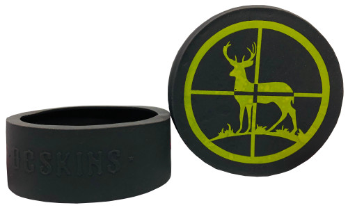 DC Skins Snuff Covers - Waterproof Protective Skins for Dip and Chew Cans - Deer Hunter