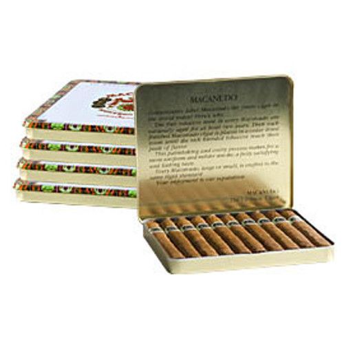 Macanudo Ascot Cigars - 4.25 x 32 (5 Tins of 10 (50 total))