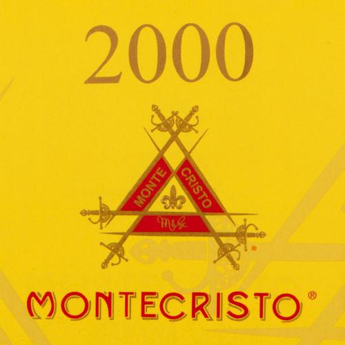 Montecristo 2000 Fer de Lance Cigars - 5 x 44 (Box of 20)