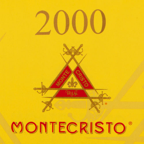Montecristo 2000 Magnum Tube Cigars - 6 x 50 (Box of 10)