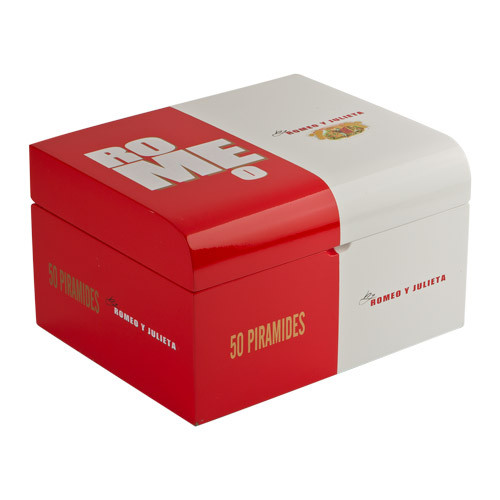 Romeo by Romeo y Julieta Piramide 50ct Humidor Cigars - 6.12 x 52 (Humidor of 50)