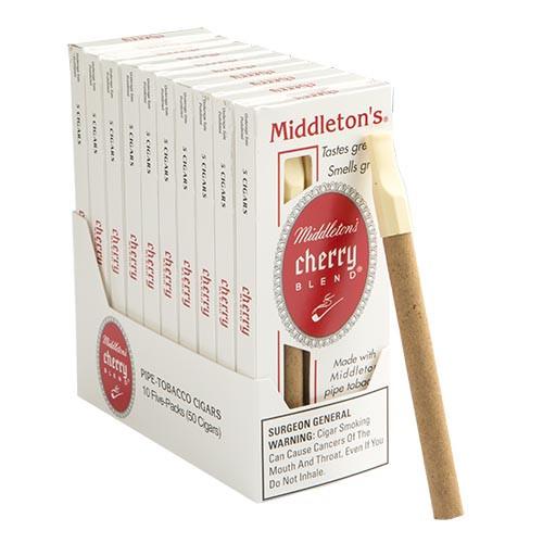 Black and Mild Cherry Blend Cigars (10 packs of 5) - Natural