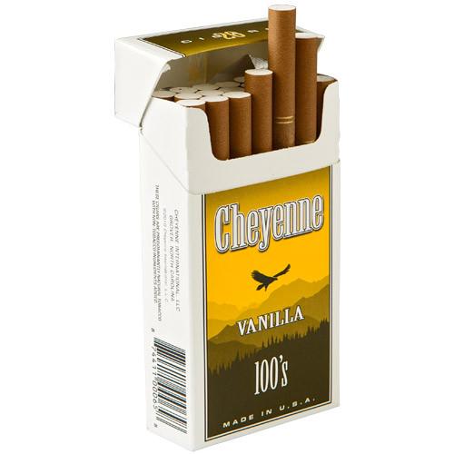 Cheyenne Filtered Vanilla Cigars (10 Packs of 20) - Natural