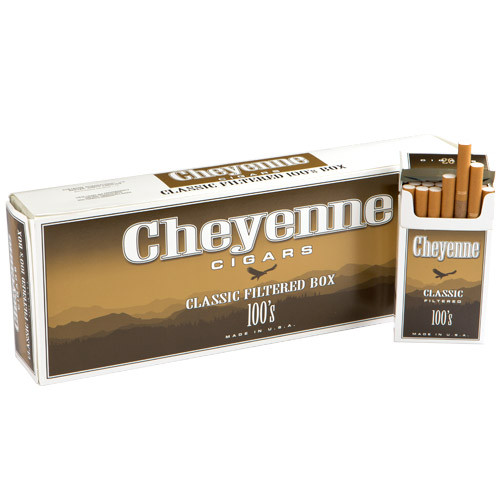 Cheyenne Filtered Classic Cigars (10 Packs of 20) - Natural