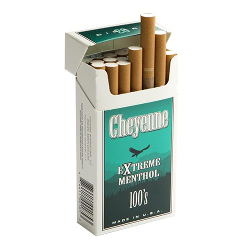 Cheyenne Filtered Extreme Menthol Cigars (10 Packs of 20) - Natural