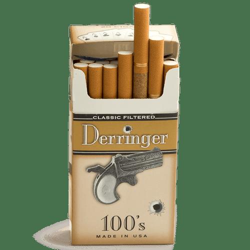Derringer Filtered Classic Cigars (10 Packs of 20) - Natural