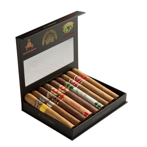 Cigar Samplers Altadis Iconic Brand Sampler (Window Box of 9)