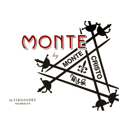 Monte by Montecristo AJ Fernandez Toro Cigars - 6 x 55 (Box of 20)