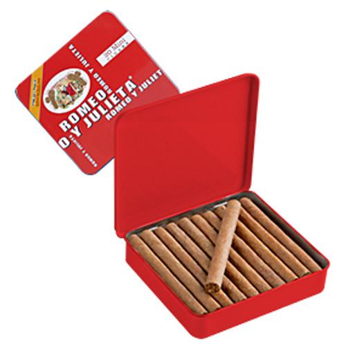 Romeo y Julieta 1875 Mini Red Aroma Cigars - 2.88 x 20 (5 Tins of 20 (100 total))