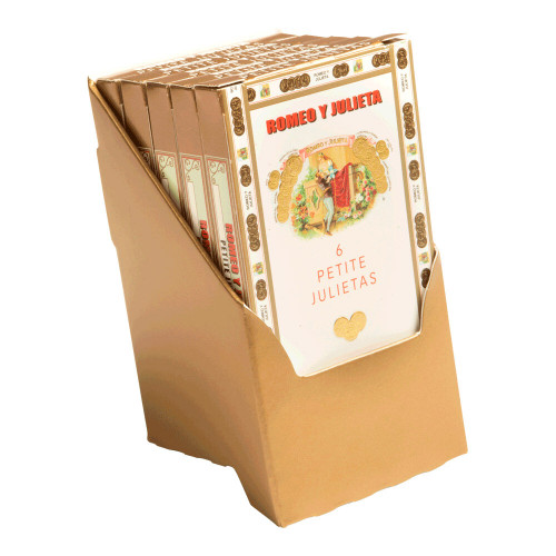 Romeo y Julieta 1875 Petit Julietas Cigars - 3.62 x 24 5 Packs of 6 (30 total)