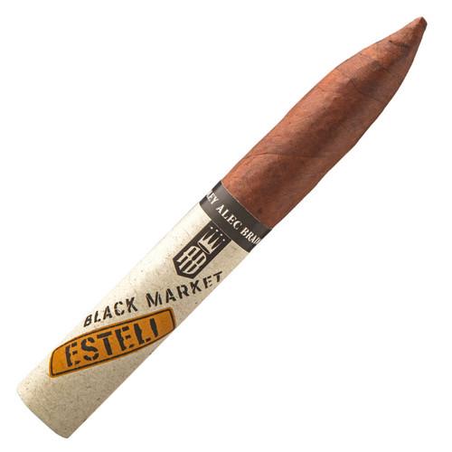 Alec Bradley Black Market Esteli Torpedo Cigars - 6.5 x 52 (Box of 22)