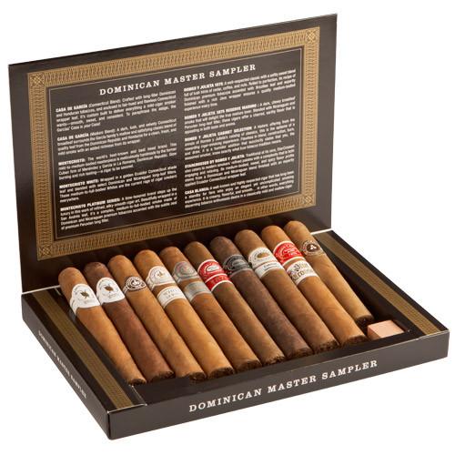 Cigar Samplers Dominican Master Sampler Cigars (Box of 10)