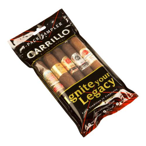 Cigar Samplers E.P. Carrillo Toro Sampler Cigars (Fresh Pack of 5)